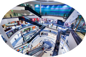 retail analytics, real time capture, Traffic analytics within a large mall